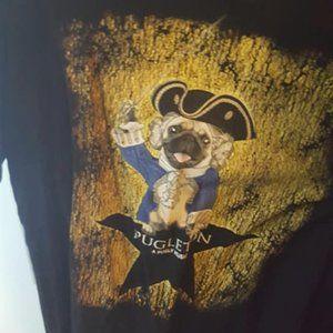 Pugleton Hamilton Pug Parody T Shirt